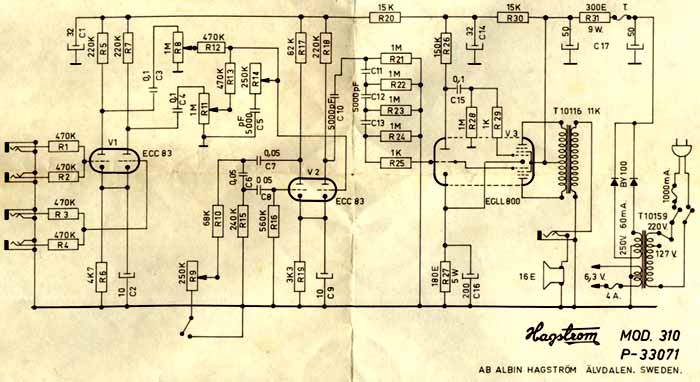 206437 Strange Tube 2 on one s circuit schematic