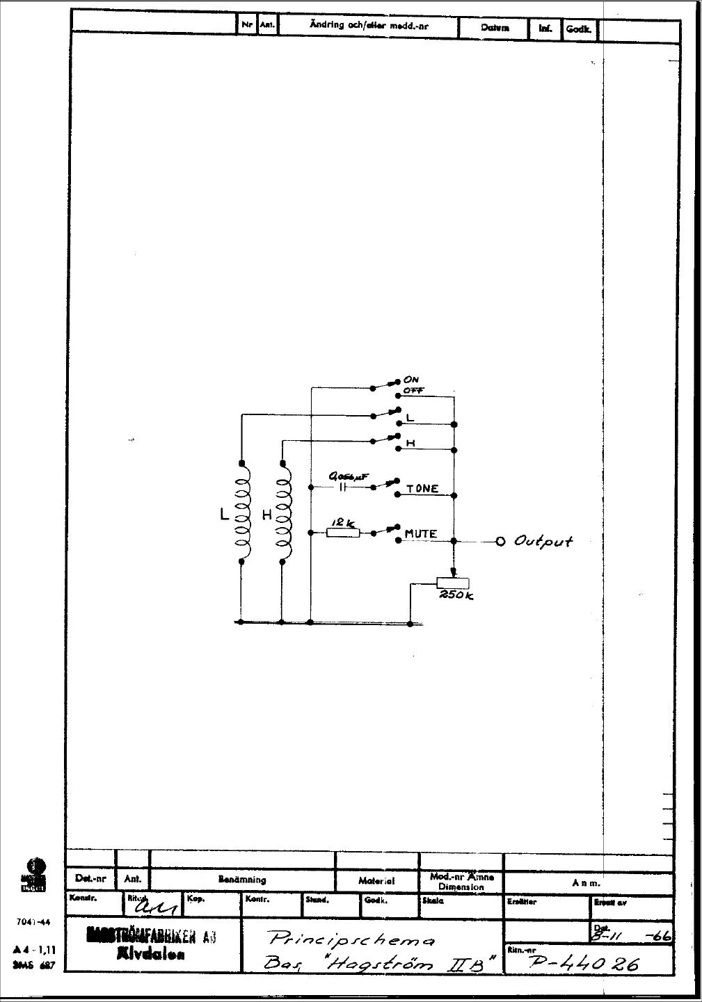 HagstromIIB 1966 hagstr�m schematics viking range wiring diagrams at bayanpartner.co