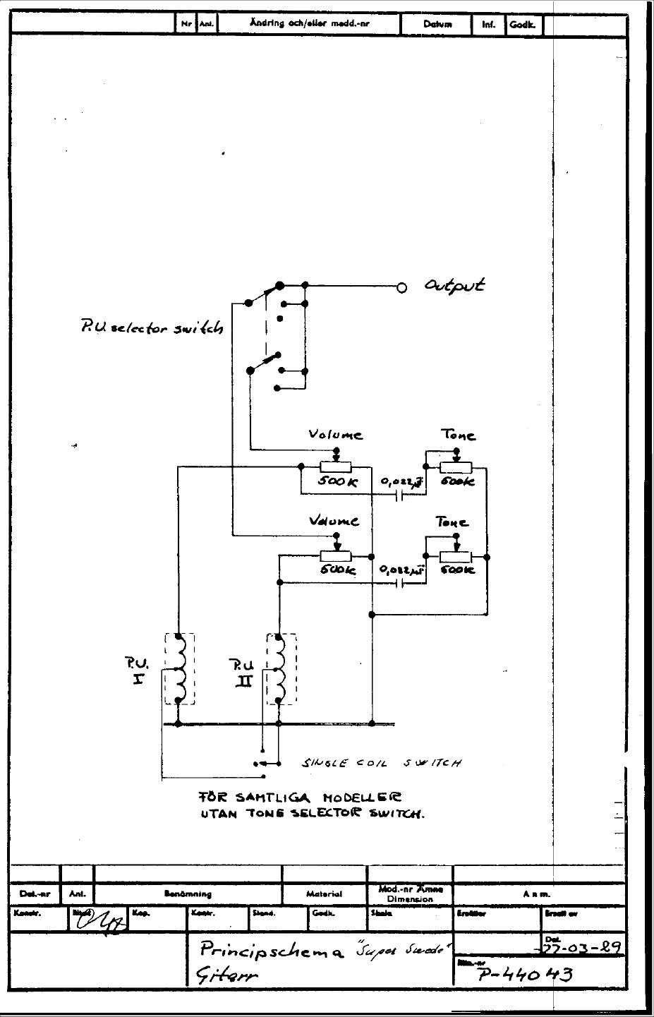 SuperSwede 1977 hagstr�m schematics hagstrom swede wiring diagram at soozxer.org