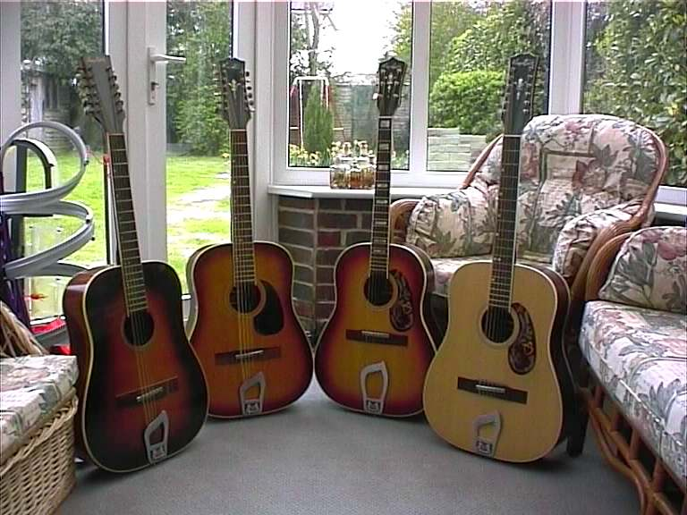 Some of the Hagstrom UK collection acoustics...